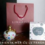 Experienţa mea cu Le Fragrance #parfum