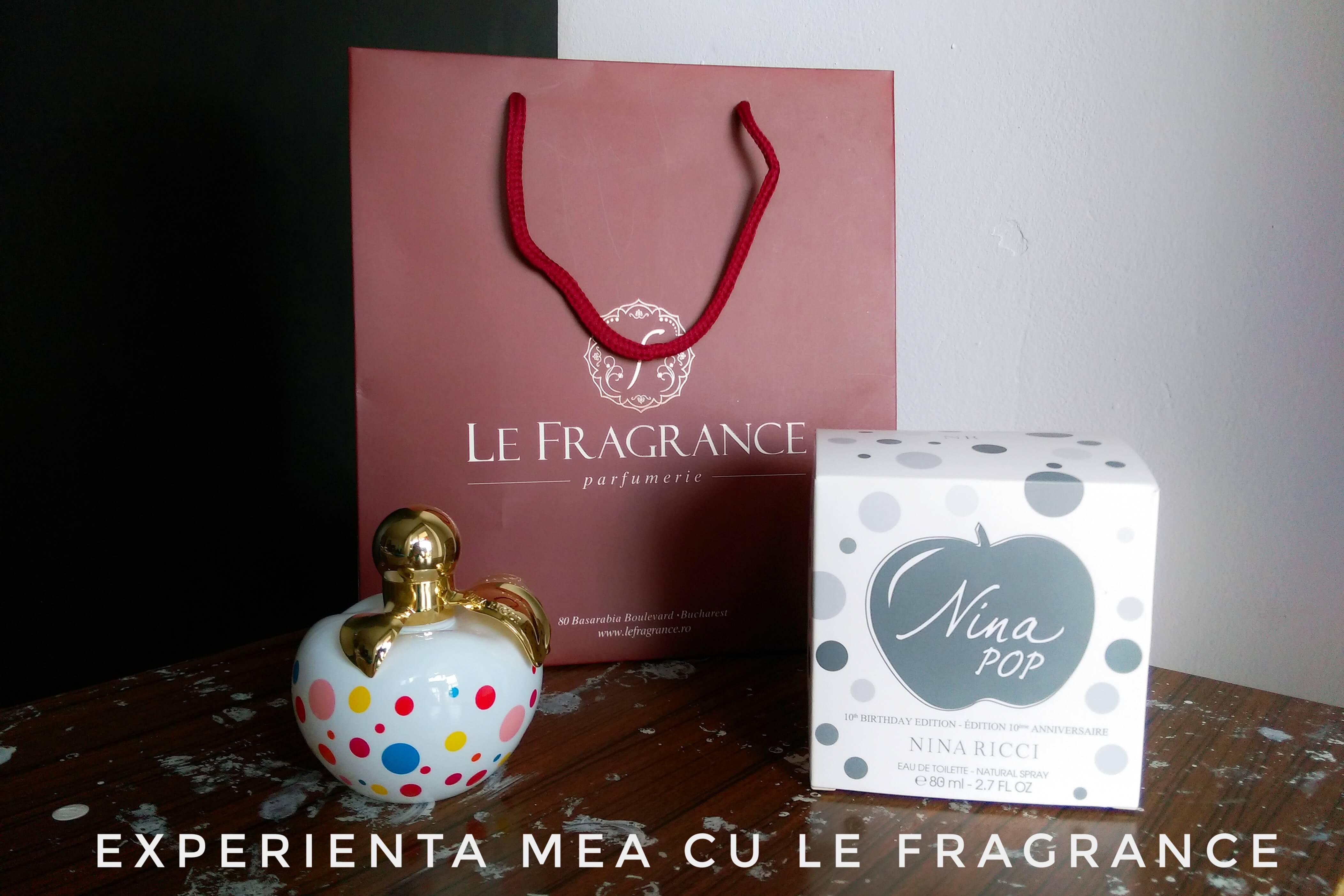 Experienţa Mea Cu Le Fragrance Parfum Crisina
